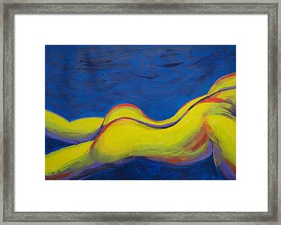 This End Up Framed Print by Randall Weidner