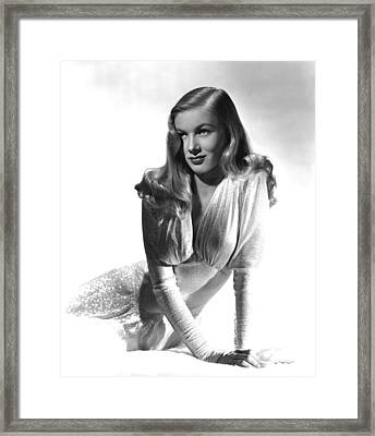 This Gun For Hire, Veronica Lake, 1942 Framed Print