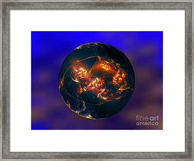 This Is Another World 2 Framed Print by Klara Acel