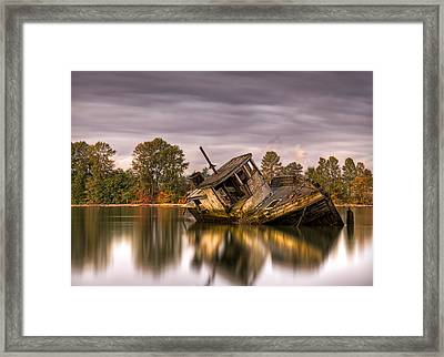 This Is British Columbia No.55 - Left To Die Framed Print by Paul W Sharpe Aka Wizard of Wonders