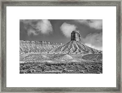 This Is Colorado No. 4 - Mancos Canyon Framed Print