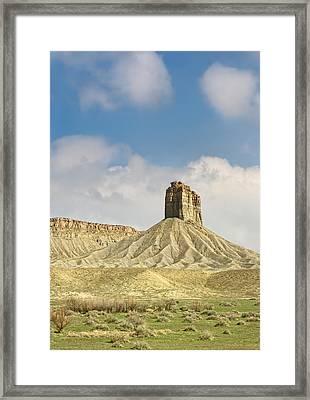 This Is Colorado No. 4c - Mancos Canyon Framed Print