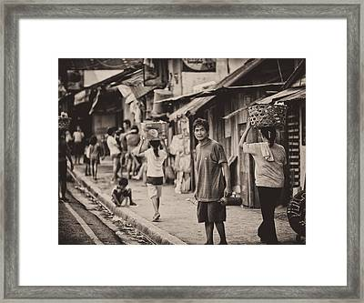 This Is The Philippines No.55 - The Carriers Framed Print by Paul W Sharpe Aka Wizard of Wonders