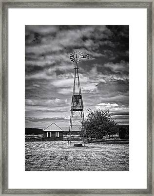 This Is Washington State No. 12 - The American Windmill Framed Print by Paul W Sharpe Aka Wizard of Wonders