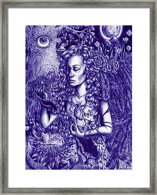 This Is Your Brain On Drugs Framed Print by Callie Fink
