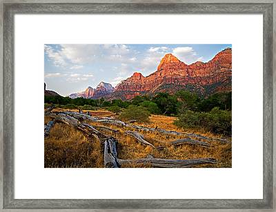 This Is Zion Framed Print by Peter Tellone