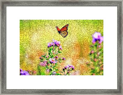 This Looks Like A Good Place.  Framed Print by James Steele