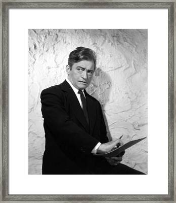 This Love Of Ours, Claude Rains, 1945 Framed Print by Everett