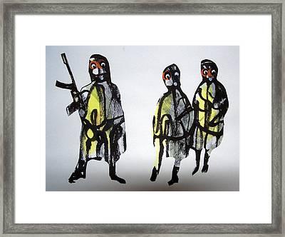 This Masquerade Framed Print by Aquira Kusume