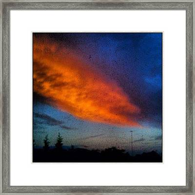 This Morning Over Camden #fcnphoto Framed Print
