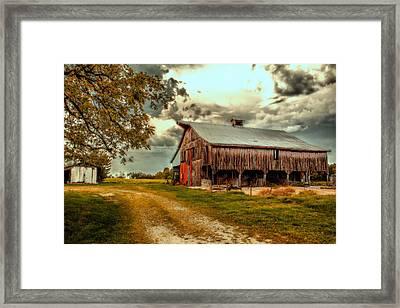 This Old Barn Framed Print by Bill Tiepelman