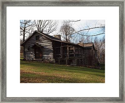 This Old Cabin Framed Print by Robert Margetts