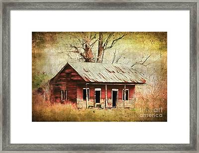 This Old House Framed Print by Judi Bagwell