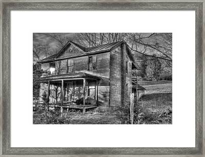 This Old House Framed Print by Todd Hostetter