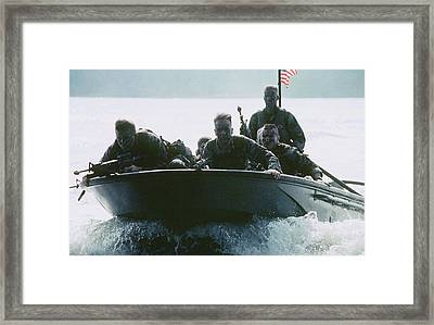 This Photograph Of Six Armed Us Framed Print