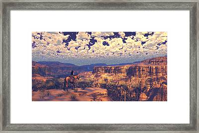 This Tattered Land Framed Print