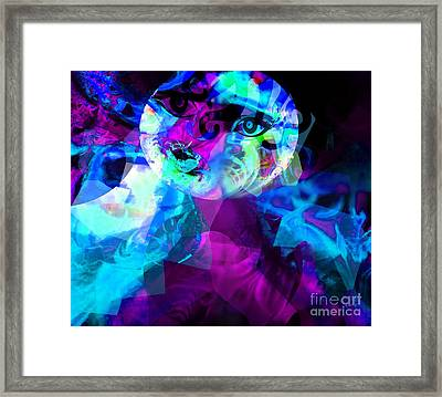 This World Is Not My Home - Just Passing By Framed Print by Fania Simon