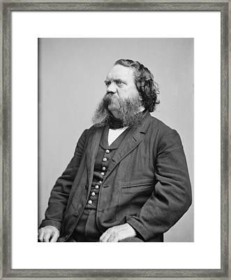Thomas B. Thorp 1815-1878 American Framed Print by Everett