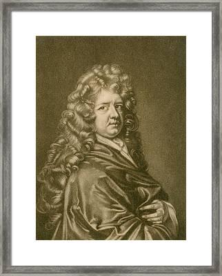 Thomas Betterton C. 1635-1710, Leading Framed Print