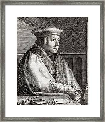 Thomas Cromwell, English Statesman Framed Print