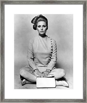 Thomas Crown Affair, Faye Dunaway, 1968 Framed Print by Everett