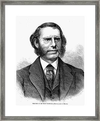 Thomas De Witt Talmadge Framed Print by Granger