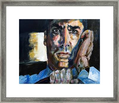 Thomas Gibson In The Reaper Returns Framed Print by Ginette Callaway