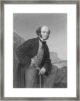 Thomas Hughes 1822-1896 English Framed Print by Everett