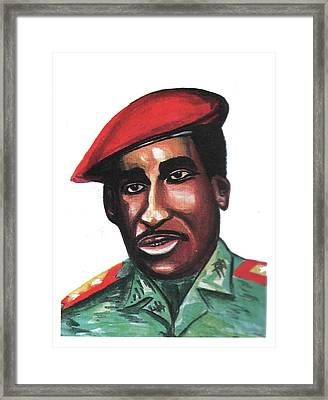 Thomas Sankara Framed Print