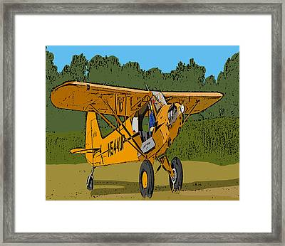 Thomas Framed Print by Steven Richardson