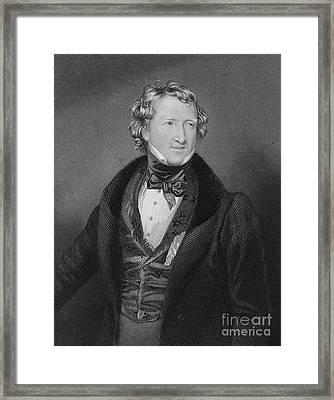 Thomas Wakley, English Coroner Framed Print