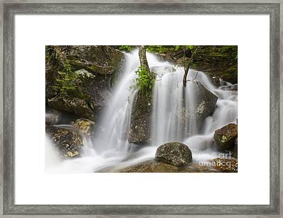 Thompson Falls - Pinkham Notch New Hampshire Usa Framed Print by Erin Paul Donovan