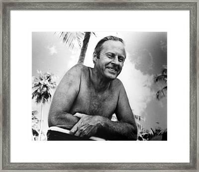 Thor Heyerdahl 1914-2002 Framed Print by Everett
