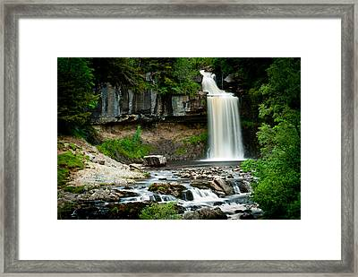Thornton Force Waterfall 2 Framed Print by Andy Comber