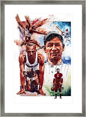 Thorpe And Owens Framed Print by Ken Meyer jr