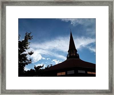 Thou Art Worthy Framed Print
