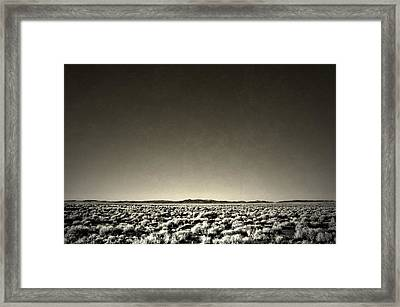 Thought Evanesce  Framed Print