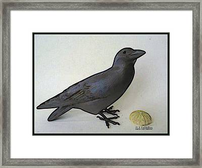 Thoughts Of A Bird Framed Print