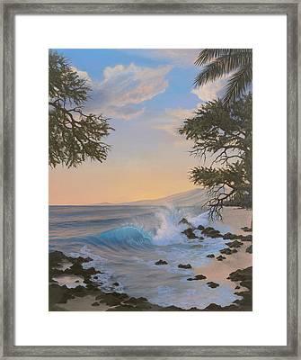 Thousand Peaks Framed Print