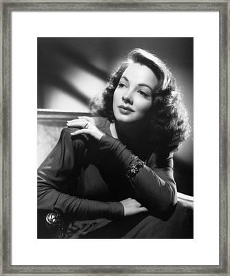Thousands Cheer, Kathryn Grayson, 1943 Framed Print by Everett