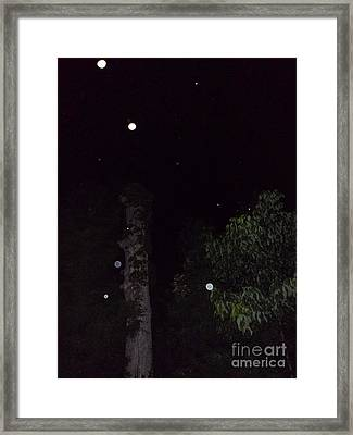 Three And A Tree Framed Print by Doug Kean