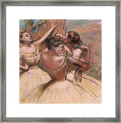 Three Dancers Framed Print