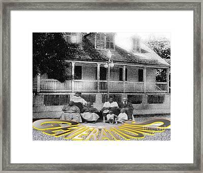 Three Generations Framed Print by Belinda Threeths