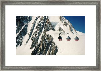 Three Gondolas Framed Print