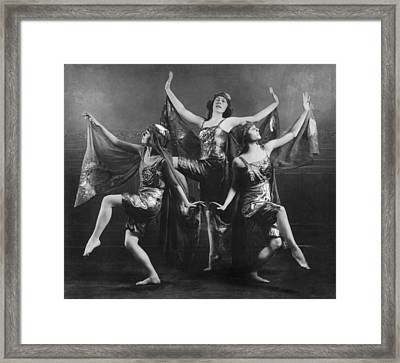 Three Graces Framed Print