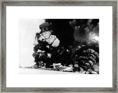 Three Hijacked Airliners Were Blown Framed Print by Everett