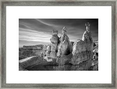Framed Print featuring the photograph Three Kings by Mike Irwin