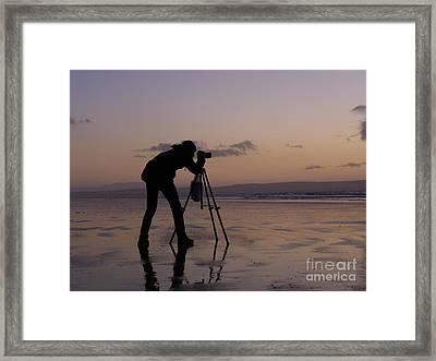 Three Legged Friend Framed Print by Urban Shooters