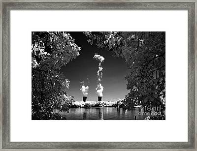 Three Mile Island Framed Print by Paul W Faust -  Impressions of Light