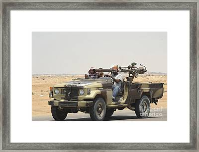 Three Rebel Fighters In A 4x4 Framed Print by Andrew Chittock